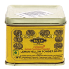 Bush Yellow Colour Powder