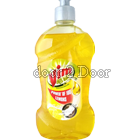 Vim Active Yellow Dish Wash Liquid Bottle