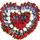 40 Dairy Milk Chocolate Bouquet