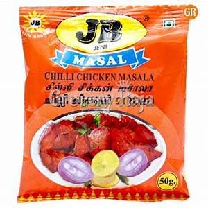 jp chilli chicken masala