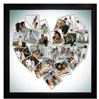 Photo Frame 20x20 Heart collage