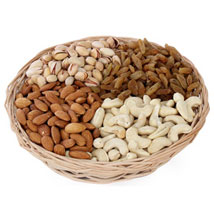 Four Variety Dry Fruit Gift Basket