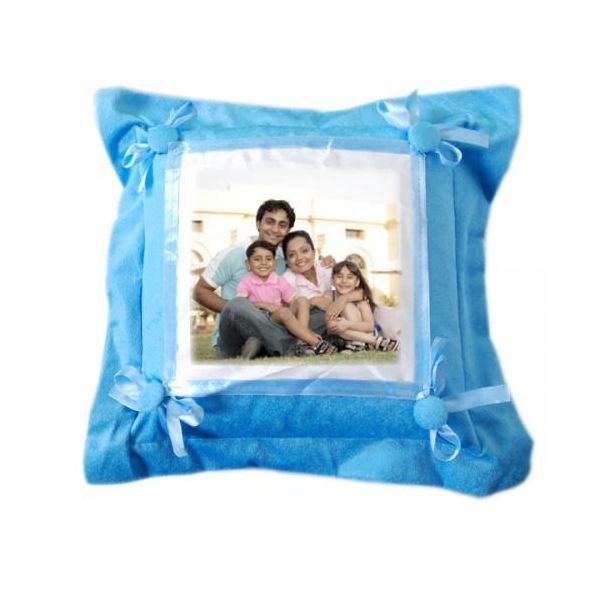 Blue Cotton Pillow