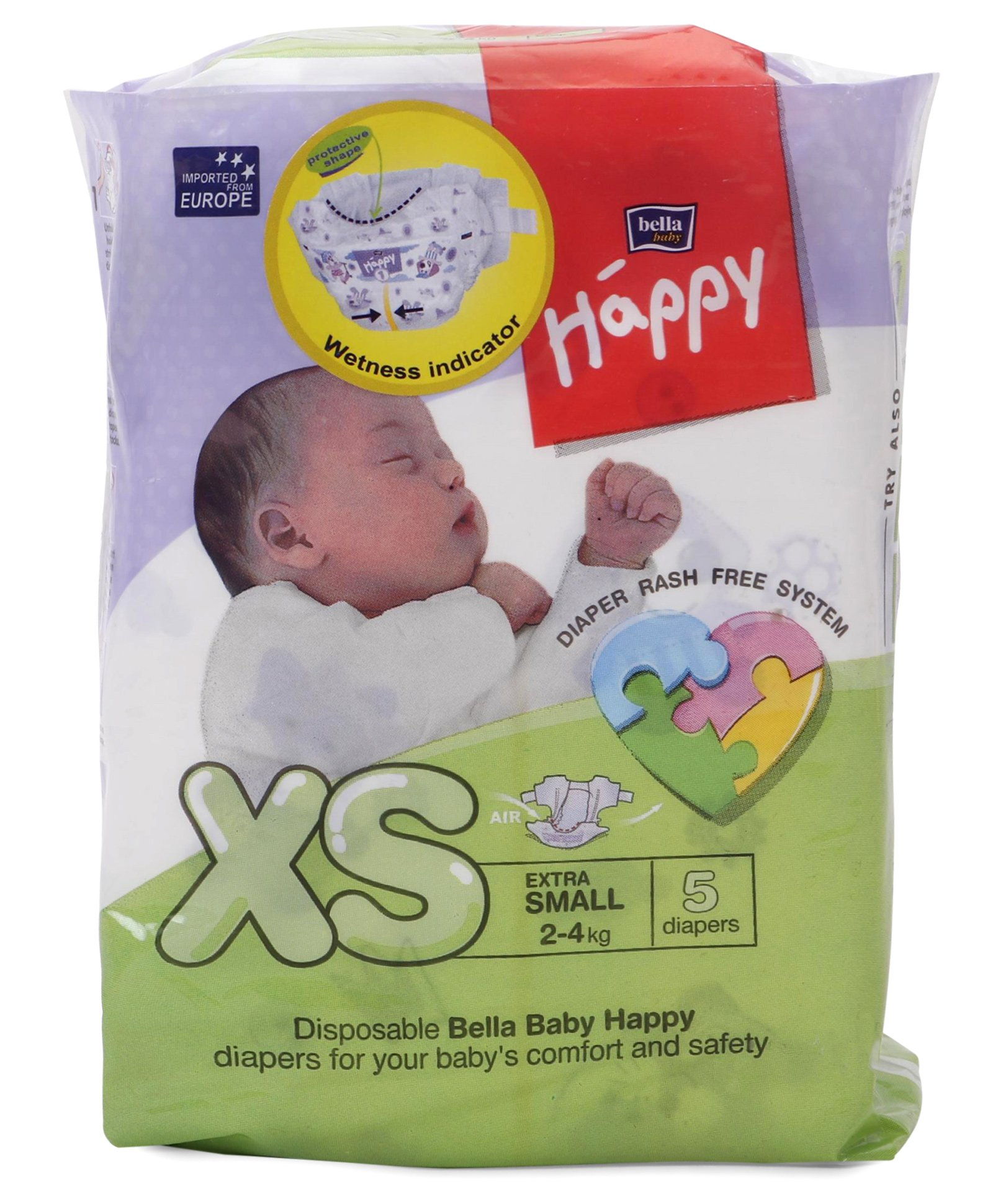 Happy Baby Diapers 5 Nos