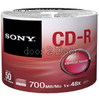 Sony CD - Pack of 50 with Box